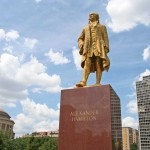 Alexander Hamilton Monument - by Eliel Saarinen