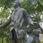 John Peter Altgeld Monument - by Gutzon Borglum