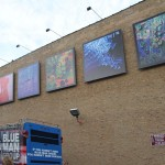 Blue Man Group art gallery