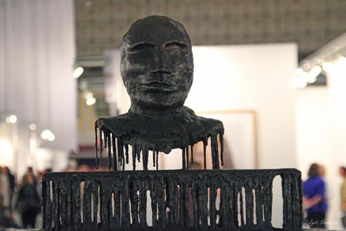 Blind Bust I and II - by Diana Al-Hadid
