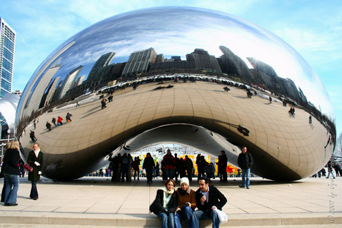 Cloud Gate - by Anish Kapoor