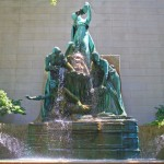 Fountain of the Great Lakes - by Lorado Taft