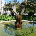 Eagle Fountains - by Frederick C. Hibbard