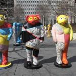 "2013: Documentation of Exhibition: ""Legends, Myths & Truths"" – by Jun Kaneko [Millennium Park]"