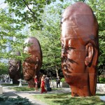 2014: Opening Reception: 1004 Portraits - by Jaume Plensa