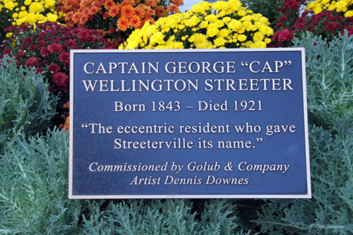 "Captain George ""Cap"" Wellington Streeter - by Dennis Downes"