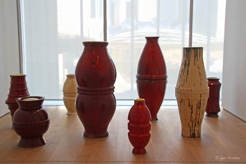 Urns - by Thomas Schutte