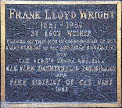 Frank Lloyd Wright - by Egon Weiner