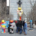 "2013: Installation of ""Legends, Myths and Truths"" - by Jun Kaneko"