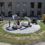 "2011: Installation of  ""Meridian IX"" - by Ed McCullough"