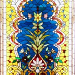 Flower Filled Oriental Niche - by unidentified designer