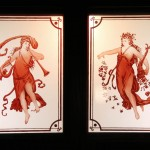 Pair of Art Nouveau Figures - by unidentified designer
