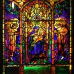 Nativity - Attributed to Louis Comfort Tiffany