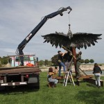"2012: Installation of ""Chicago Industrial"" - by Marshall Svendsen"