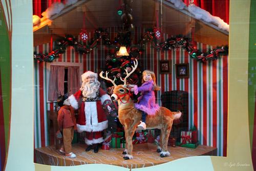 Make your way north to Santa's magical lair