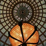 Tiffany Dome at Preston Bradley Hall, Chicago Cultural Center/ Chicago Loop...