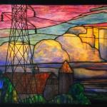 Chicago Skyline - Tiffany Studio