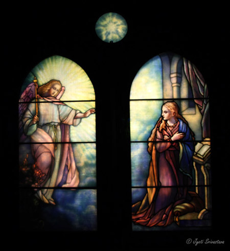 The Annunciation - by Tiffany Glass & Decorating Company