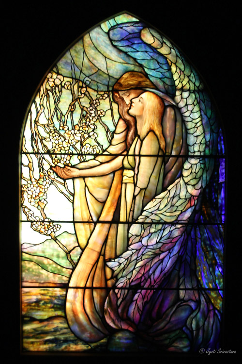 Guiding Angel - by Tiffany Studio