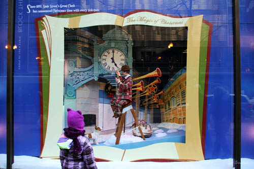 Macy's: Holiday Window Decorations