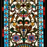 New England Victorian Jewel Window - by unidentified designer