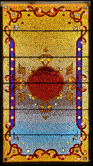 Earth, Air, Fire and Water – by Belcher Mosaic Glass Company