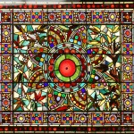 Heavily Jeweled Window - by John Mallon