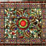 Heavily Jeweled Window - by John Mallon
