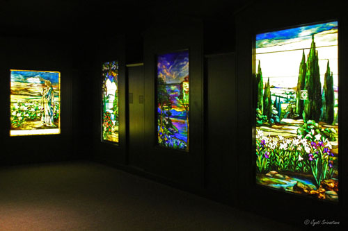 Tiffany Gallery at Smith Museum of Stained Glass