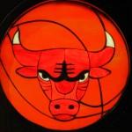 Chicago Bulls Emblem - by Khaim Pinkhasik