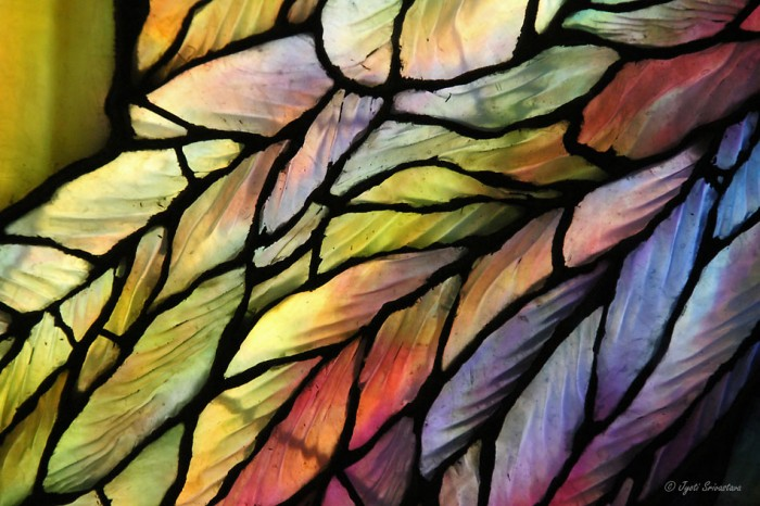 Ripple Glass: Angel wings