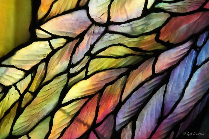 Ripple Glass: Angel wings