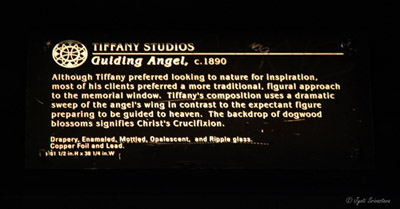 Guiding Angel - by Tiffany Studio