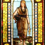 Standing Lady Window - by Leo P. Frohe