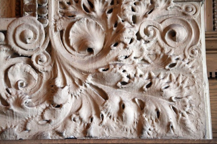Decorative plaster, Auditorium theater