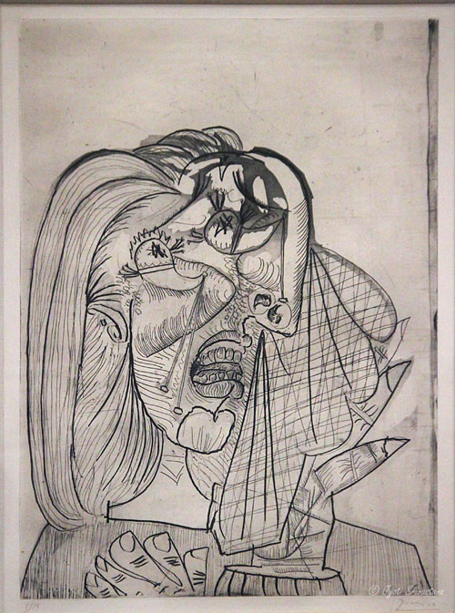 weeping woman picasso essay