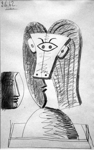 Head of a Woman - Picasso