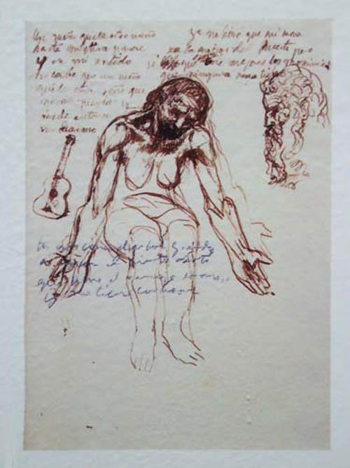 "picassos old guitarist essay Art essay / artists / leonardo da vinci / pablo picasso and pablo picasso and leonardo da vinci his artwork include paintings like ""the old guitarist."