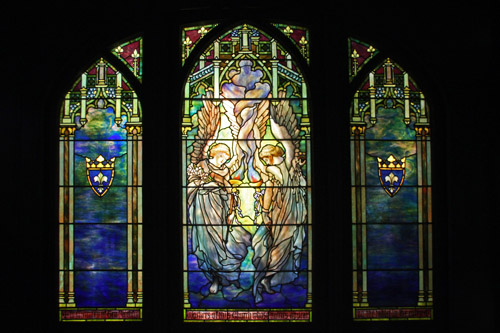 Ecclesiastical Angels – by Tiffany Glass & Decorating Company