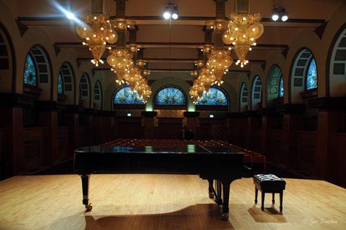 Ganz Hall, Auditorium Bldg.