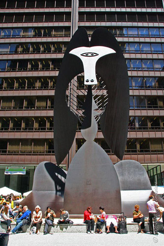 Untitled [Picasso] - by Pablo Picasso at Daley Center Plaza