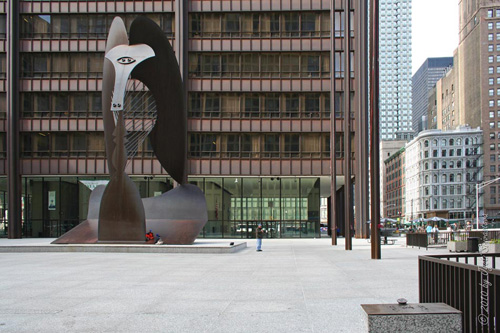 Untitled by Pablo Picasso at Chicago's Daley Center Plaza