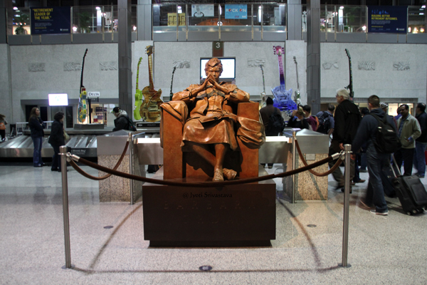 "Barbara Jordan ""true Patriot"" - by Bruce Wolfe / Austin Airport."