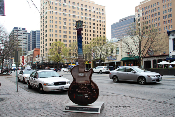 Sixth String -  by Randy Rudma / Guitartown Austin Art Project