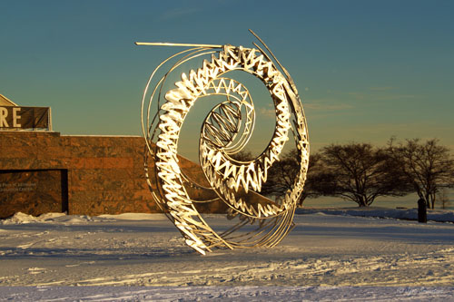 Spiral Galaxy, A Work in Progress – by John David Mooney
