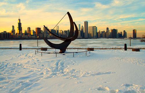 Chicago Snowscape