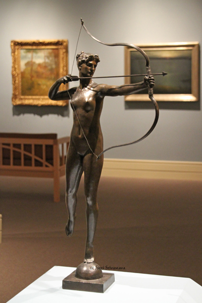 Diana - by Augustus Saint Gaudens / Indianapolis Museum of Art.