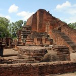 Ruins of Nalanda University / Bihar