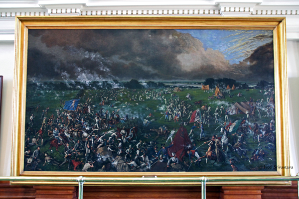 The Battle of San Jacinto - by Henry McArdle / Texas Senate Chamber / Texas State Capitol