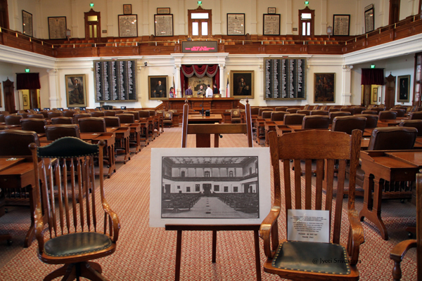 Texas House of Representatives Chamber/ Texas State Capitol